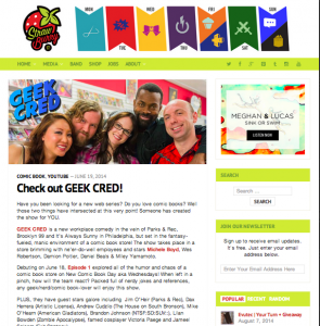 Strawburry17 Press for Geek Cred