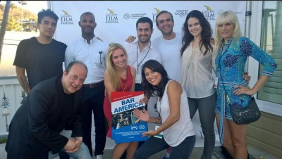 Bar America cast/crew at Catalina Film Festival