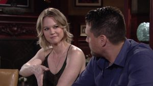 Michele Boyd and Joshua Morrow on The Young and the Restless